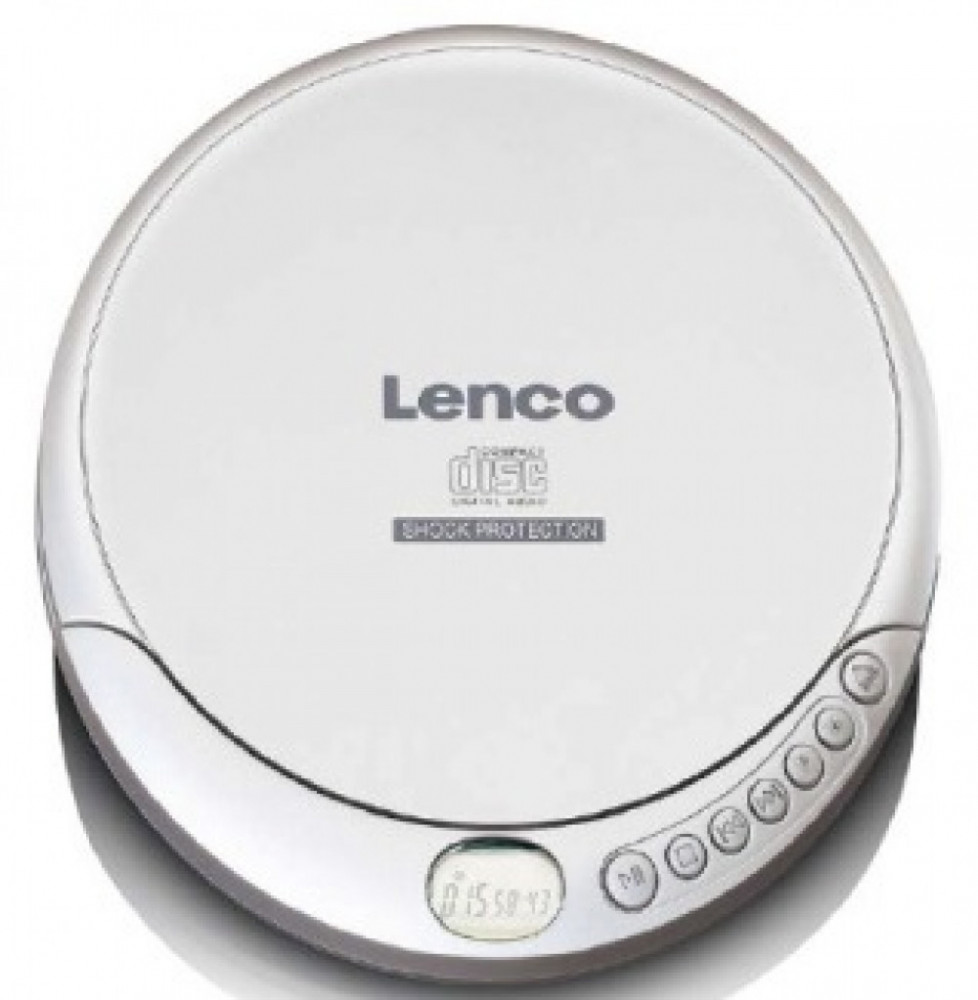 Lenco CD-200 CD-Freestyle Silver