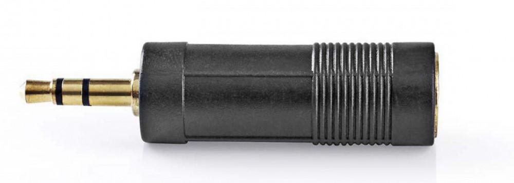 Nedis Ljudadapter 6.35mm hona - 3.5mm hane