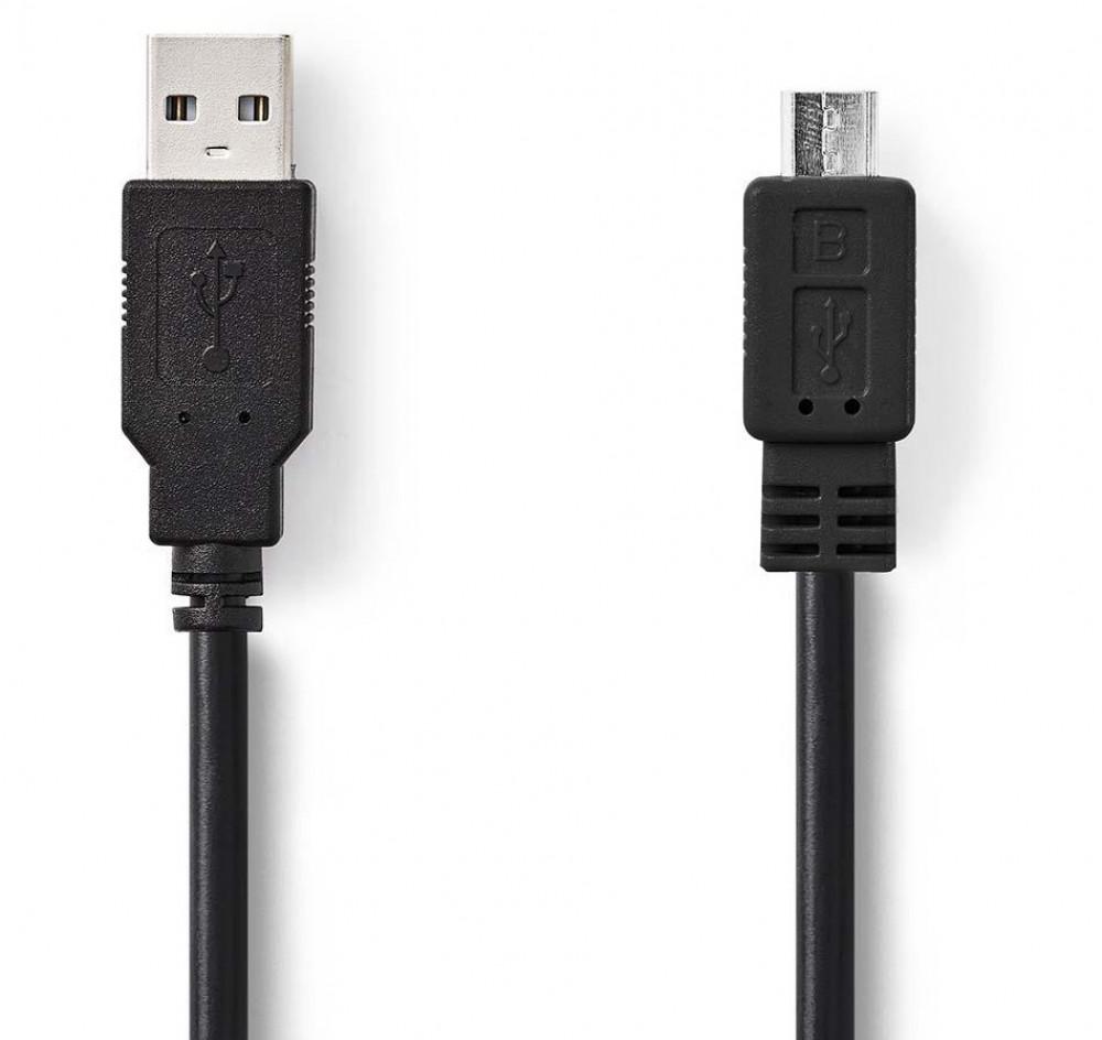 Nedis USB-A hane till Micro-B hane Kabel 1m