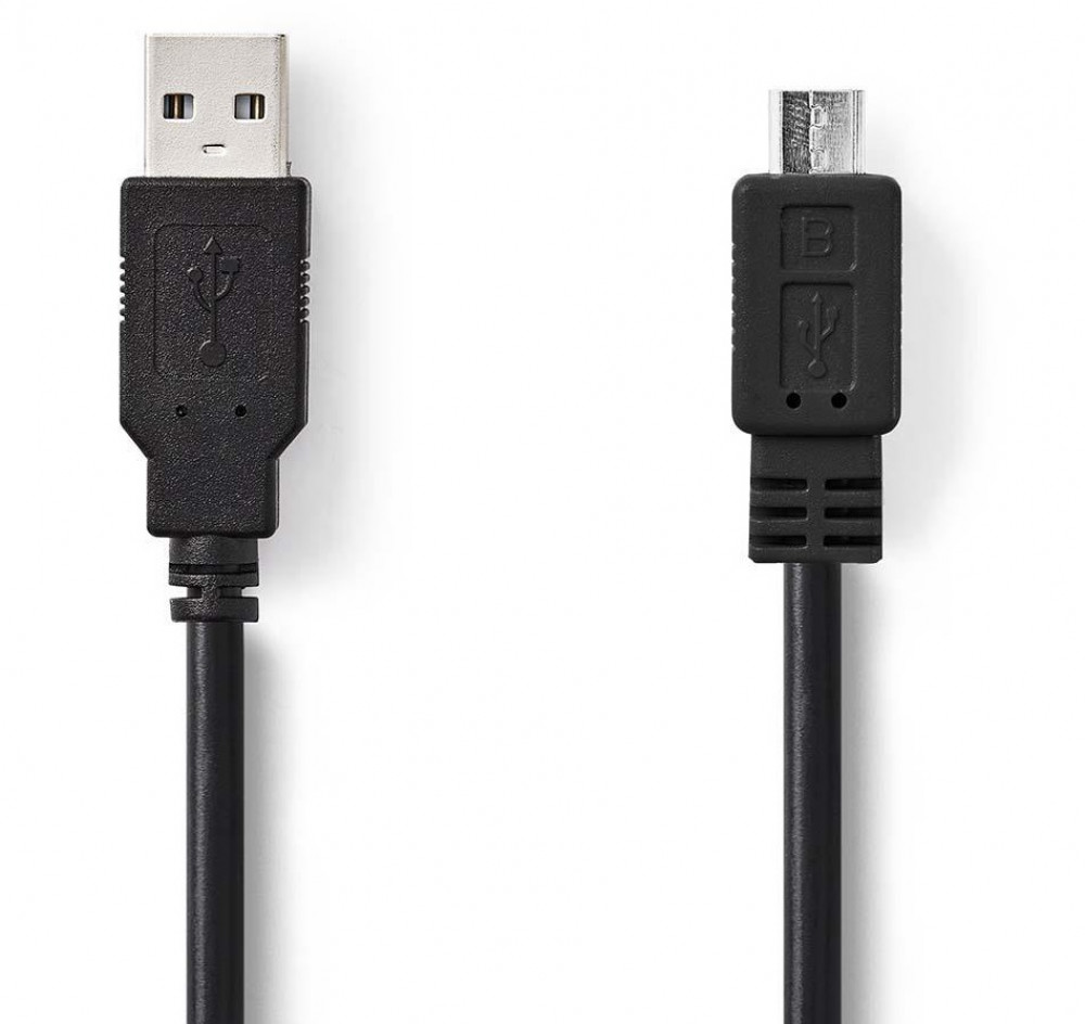 Nedis USB-A hane till Micro-B hane Kabel 2m