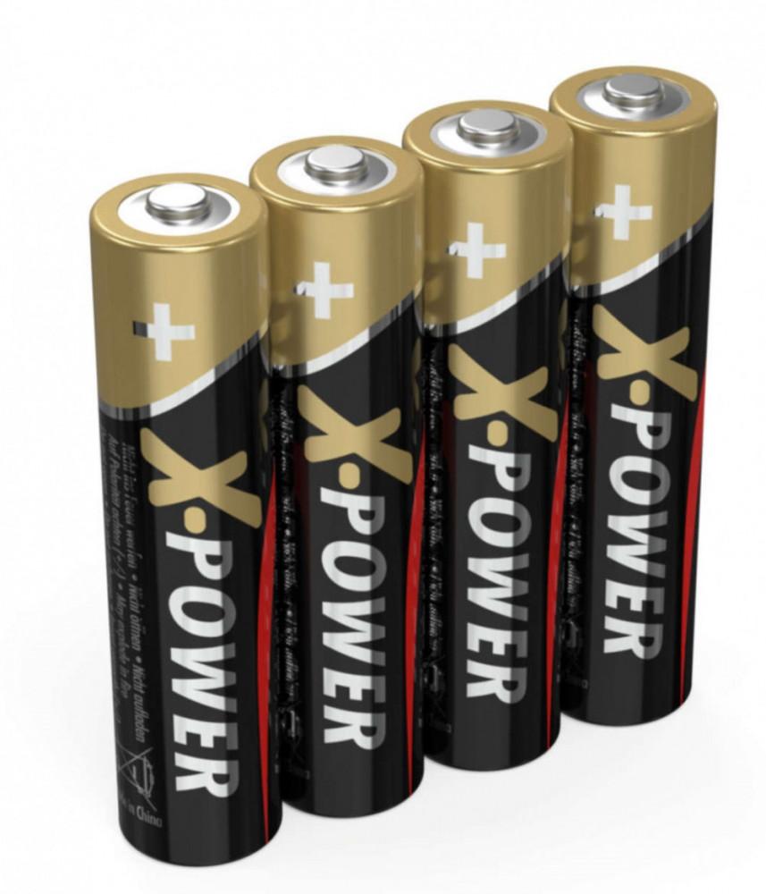 Ansmann AAA-Batterier 4-pack Alkaliska X-Power