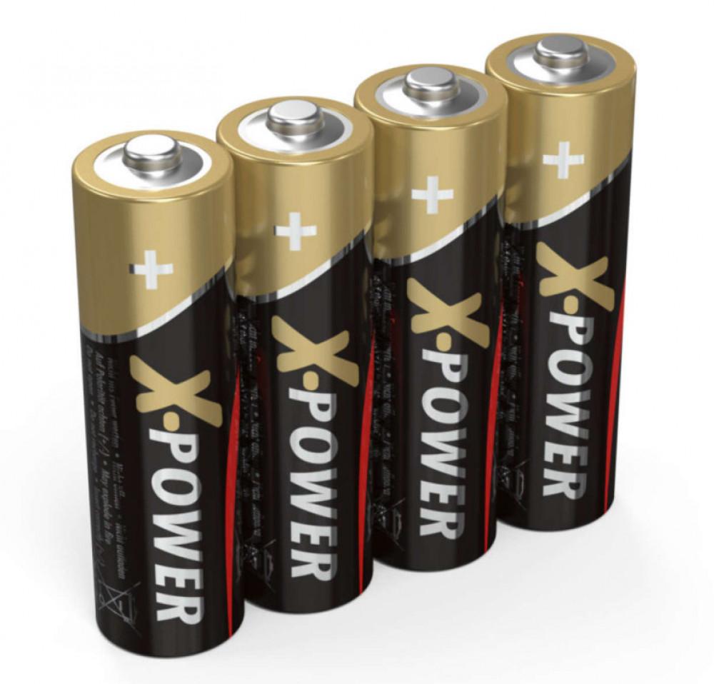 Ansmann AA-Batterier 4-pack Alkaliska X-Power