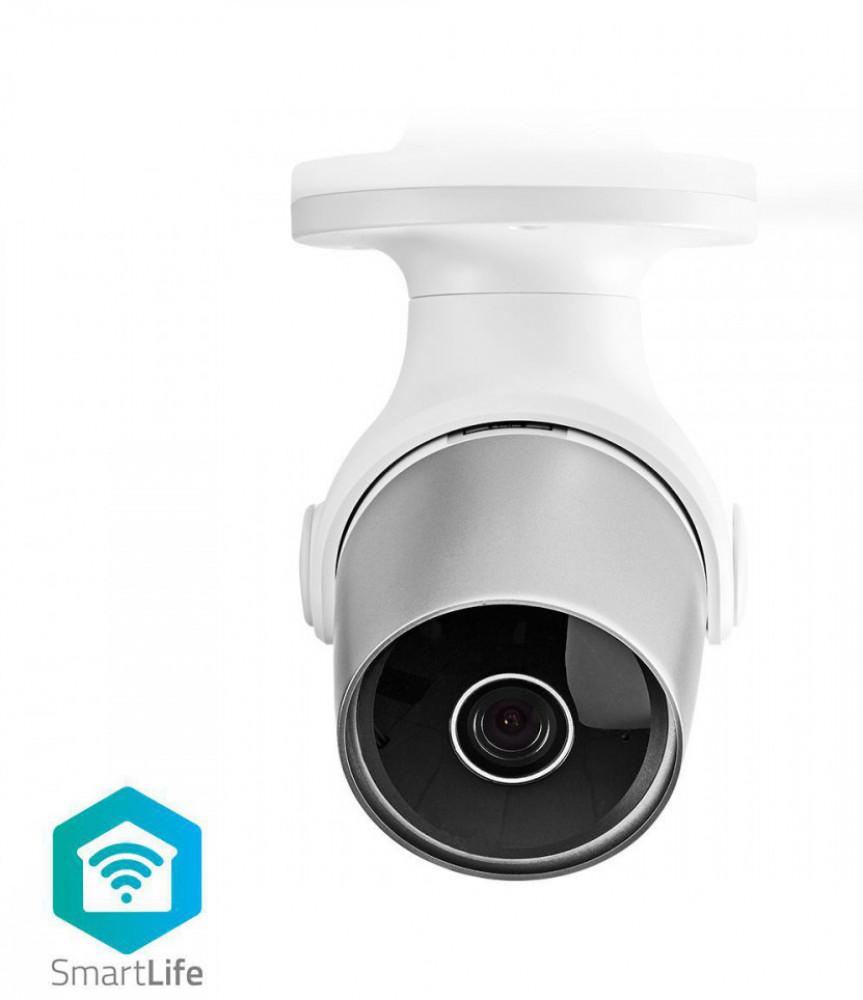 Nedis WiFi Smart-Hem kamera utomhusbruk 1080P