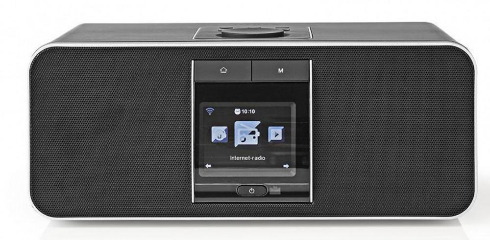 Nedis RDIN5005 BK - WiFi Internet- DAB-FM radio+Bluetooth