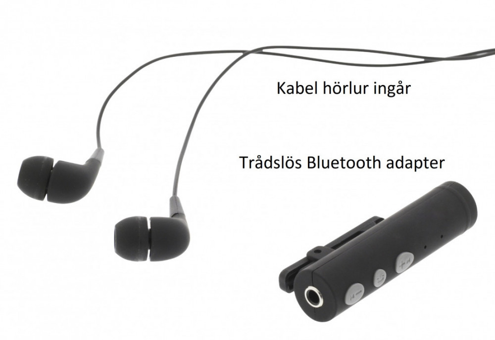 Nedis Nedis 3.5mm Bluetooth Adapter för Sladdhörlur/mic