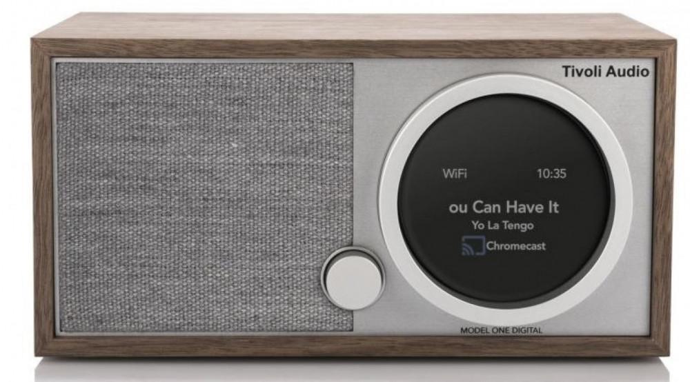 Tivoli Audio Model One Digital + Gen 2 valnöt trä