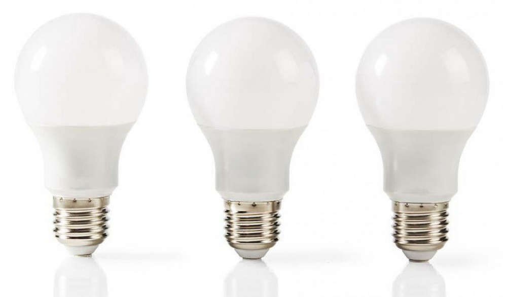 Nedis 3st LED Lampa E27 5.7watt (40w)