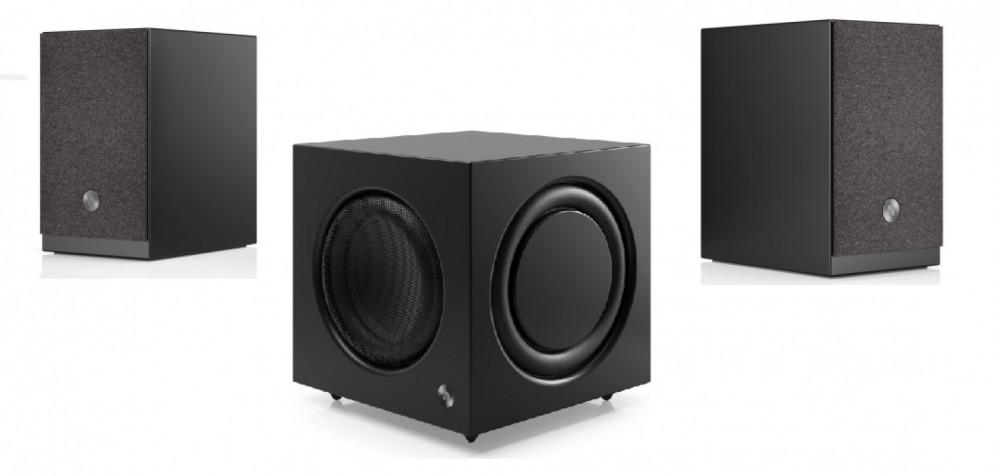 Audio Pro Aktiv 2.1 Power WiFi-Bluetooth Högtalarsystem Svart