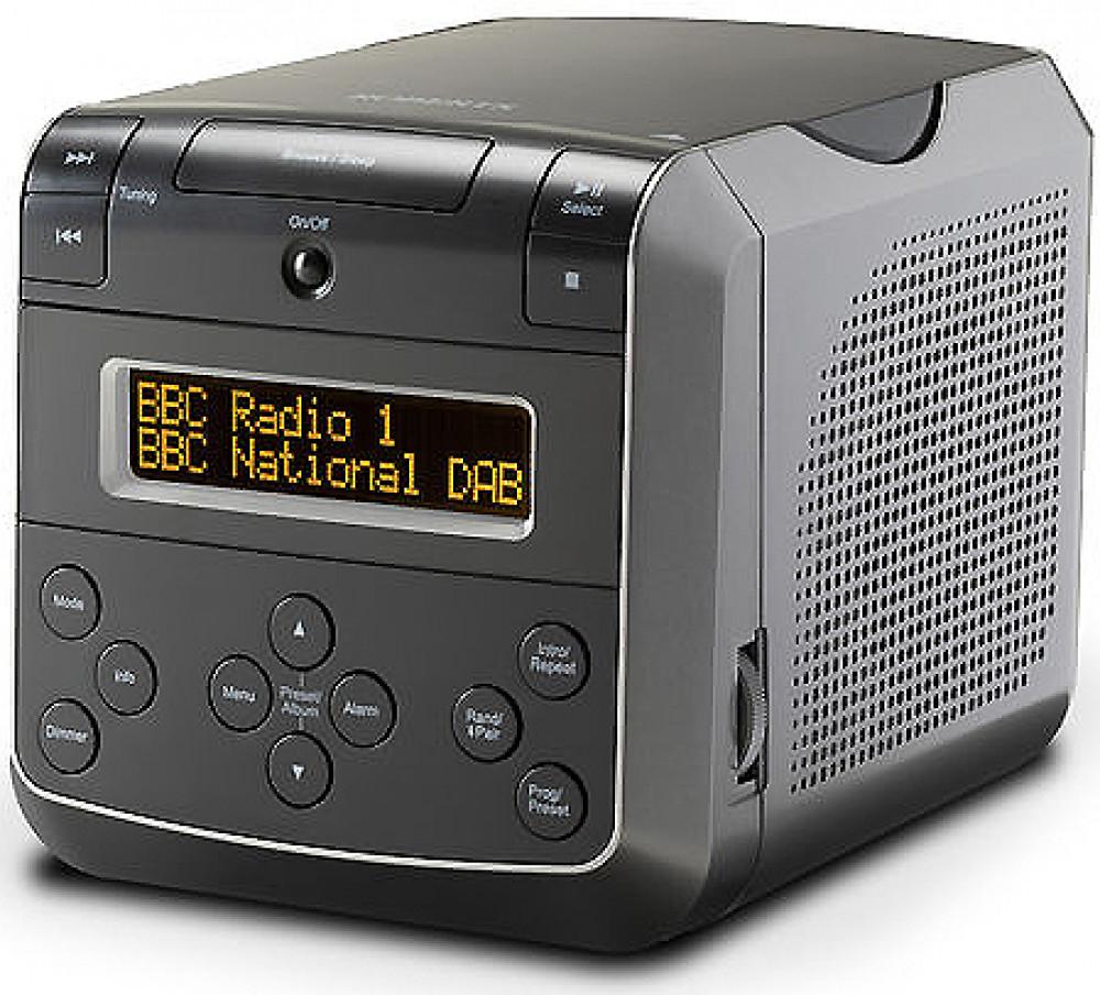 Roberts Radio Sound 48 - Klockradio med CD Svart