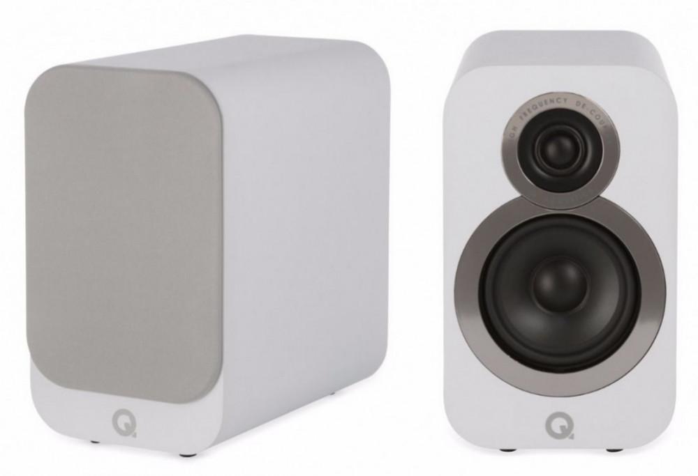 Q Acoustics 3010i Artic White - Matt vit
