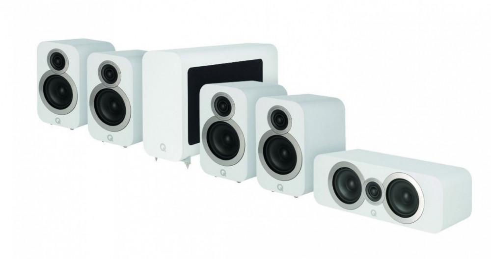 Q Acoustics Q 3010i 5.1 Cinema Pack Artic White - Matt vit