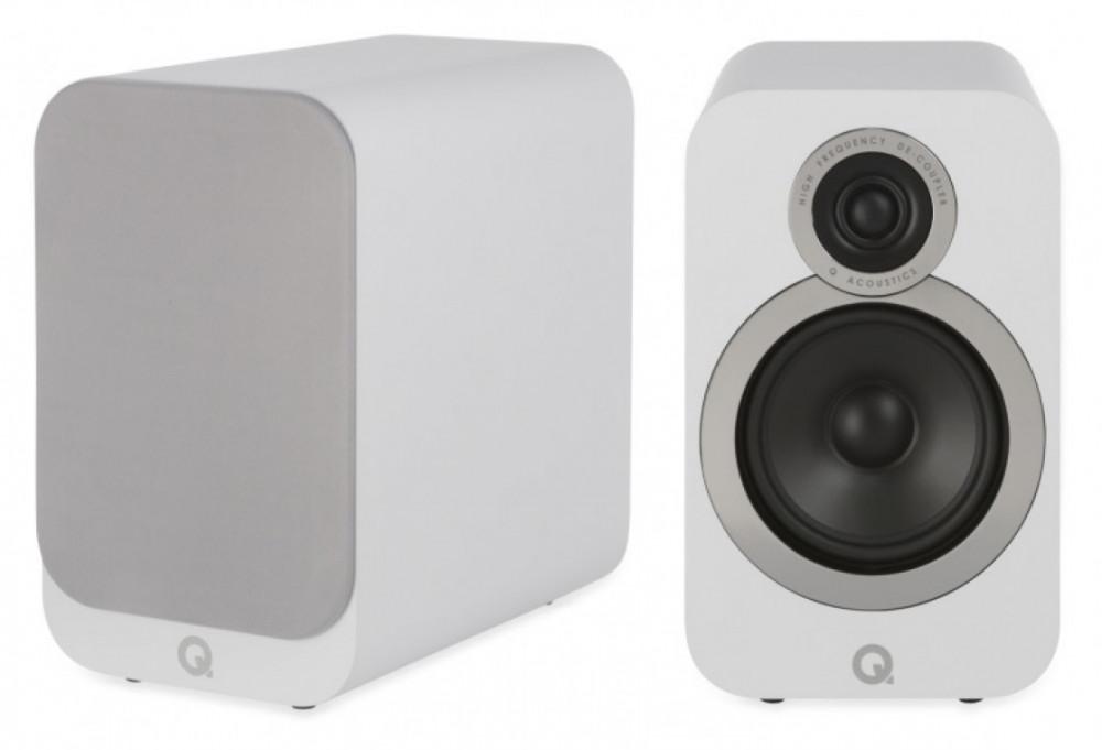 Q Acoustics 3020i Artic White - Matt vit