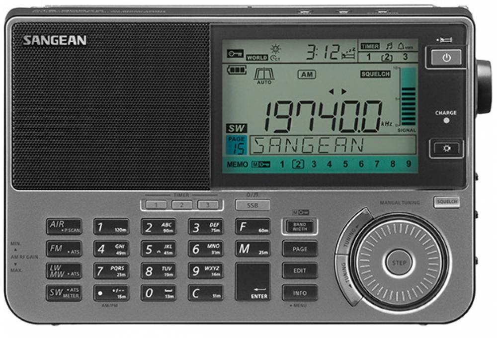 Sangean ATS-909X2 Grahite/Grå