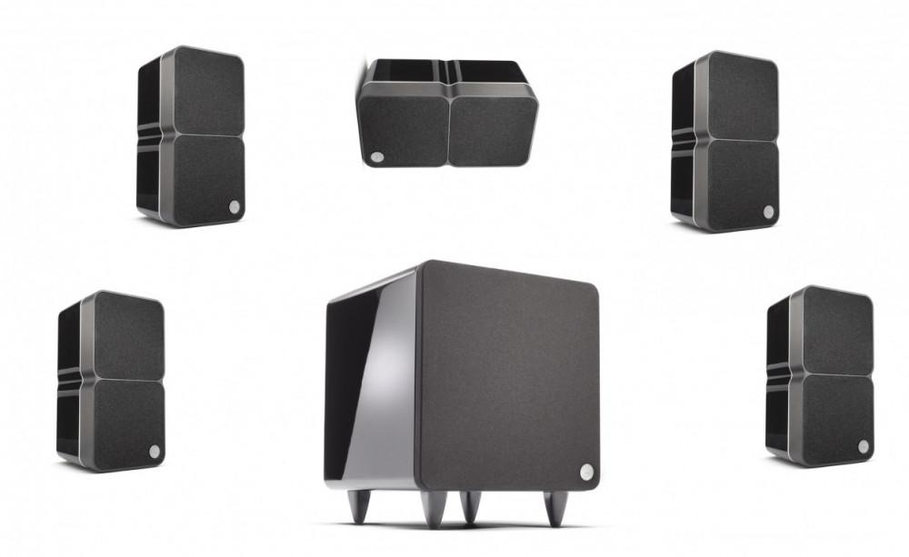 Cambridge Audio Minx 22 small 5.1 Speaker Kit Blank Svart