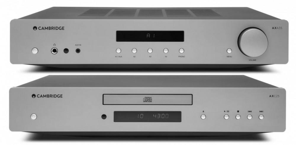 Cambridge Audio Förstärkare 2x35 watt inkl CD-Spelare