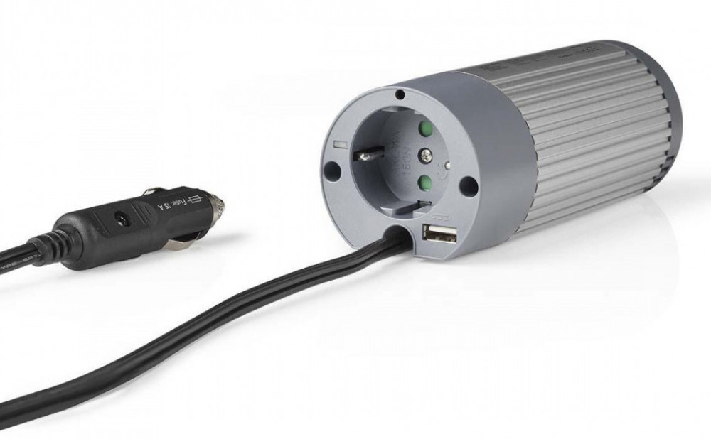 Nedis Spänningsomvandlare 12volt-230volt 100 watt