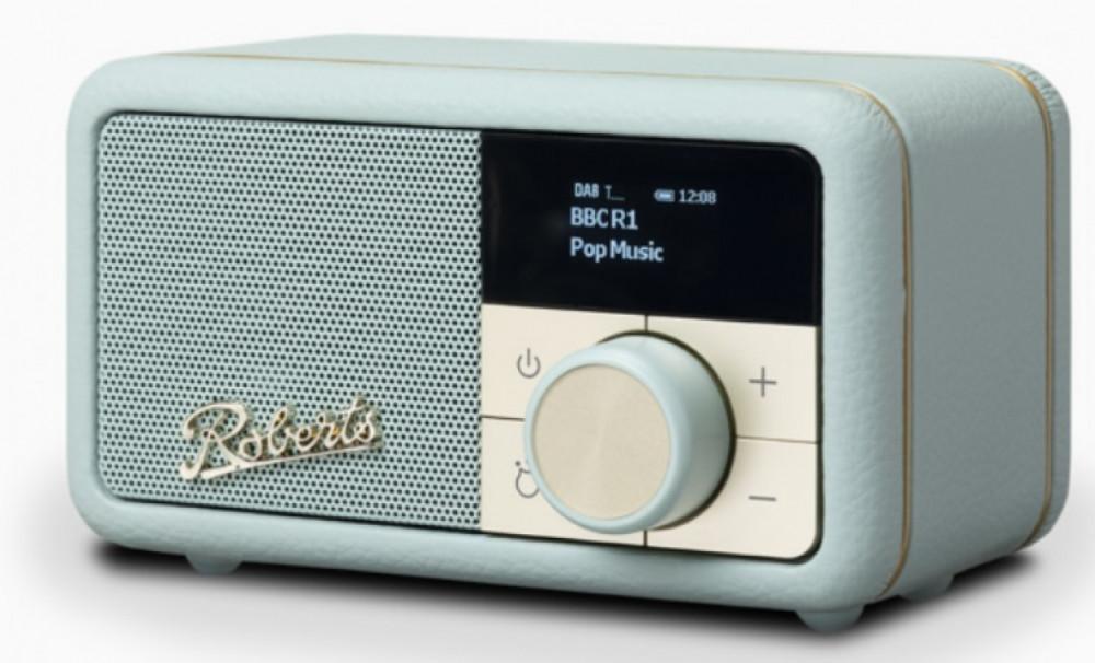 Roberts Radio Revival Petite Duck Egg Blue - Ljusblå