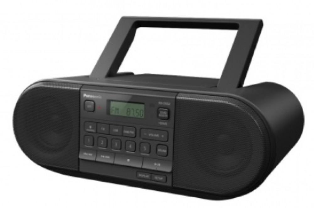 Panasonic RX-D552E Svart