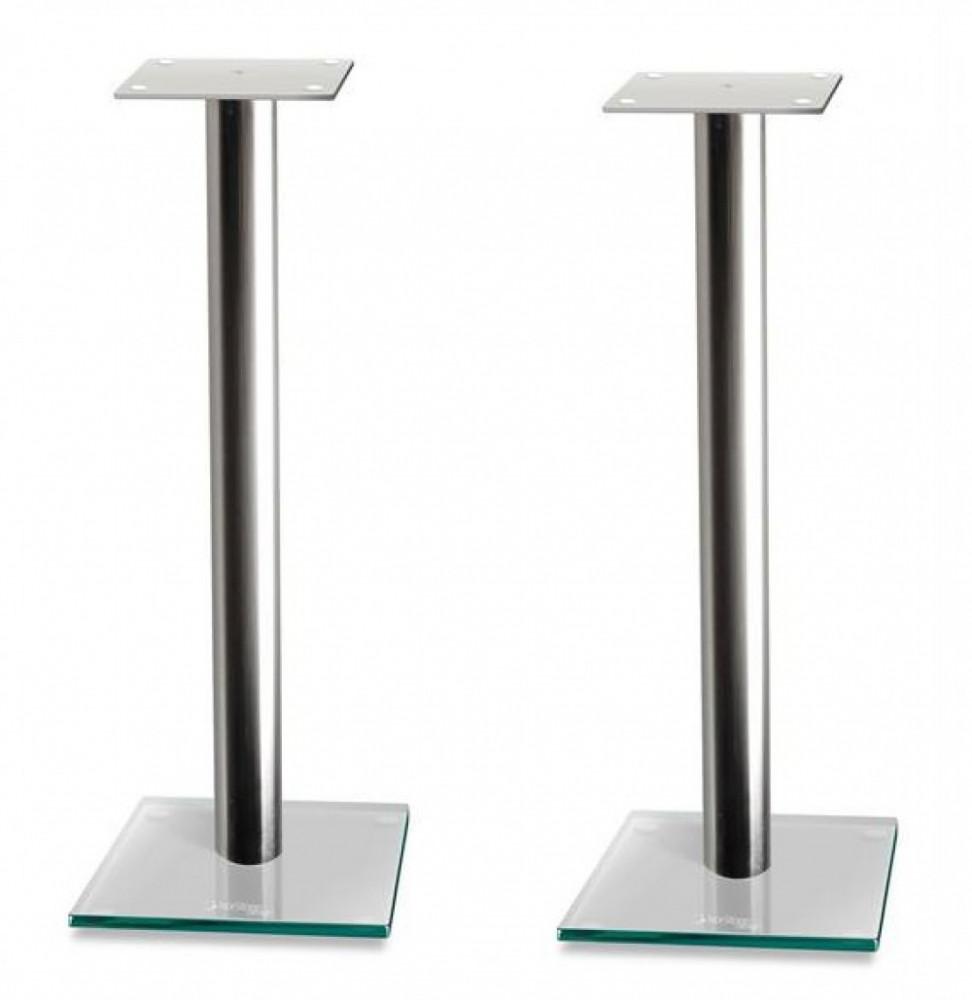 Norstone Epur Speaker Stand Silver med Klarglas