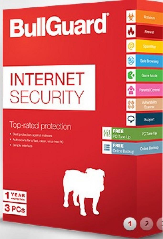 Övriga BULLGUARD Internet Security 2016