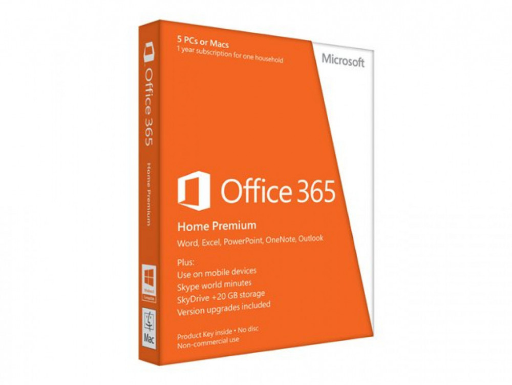 Övriga MICROSOFT Office 365 Home Premium