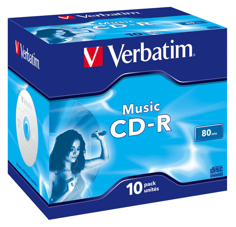 Verbatim VERBATIM CD-R Music 10-pack