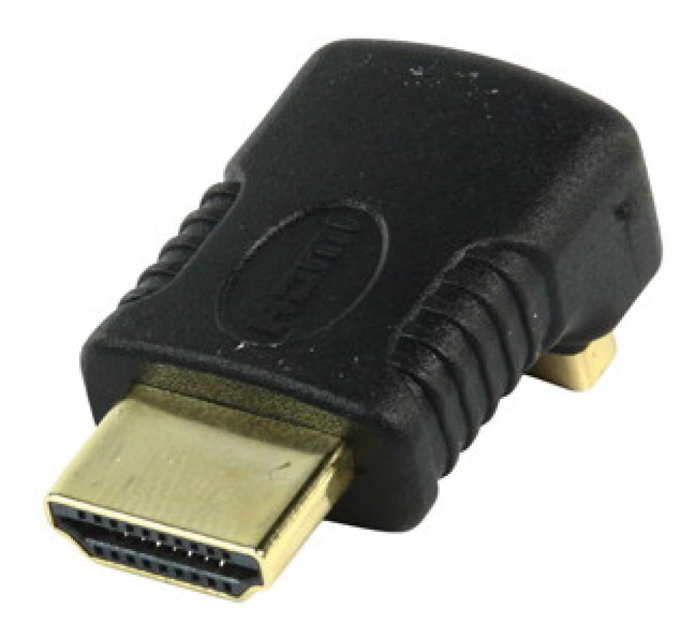 HQ HQ Vinklad 90 Grader HDMI Adapter