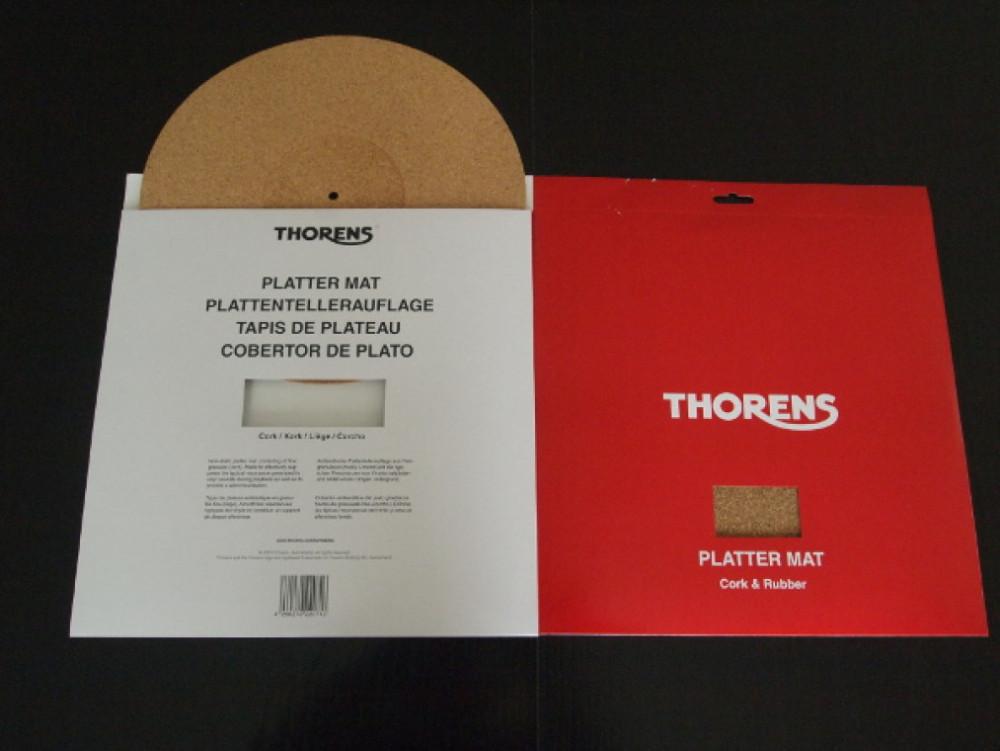 Thorens THORENS Korkmatta för skivspelare