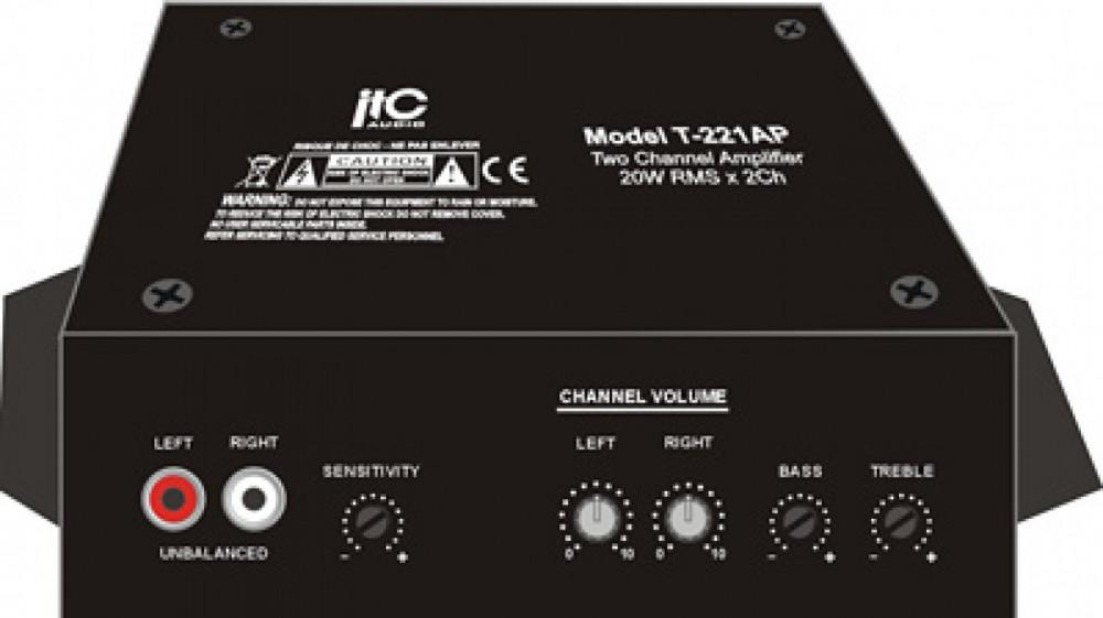 ITC Audio ITC AUDIO T-221AP Zone2 Miniförstärkare