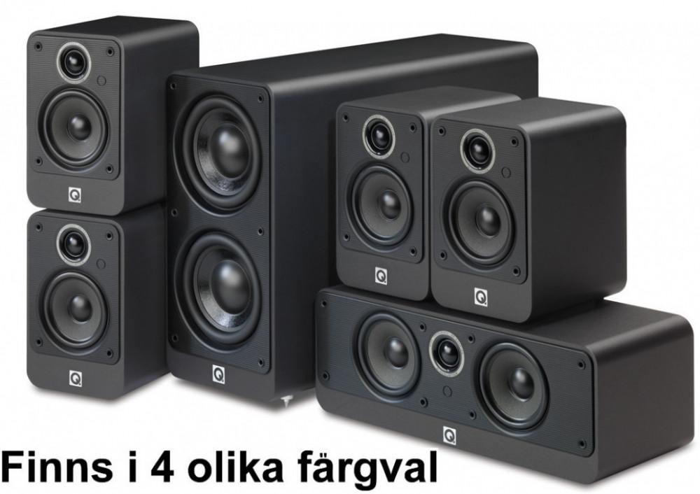 Q Acoustics Q Acoustics 2000i 5.1 Högtalarpaket